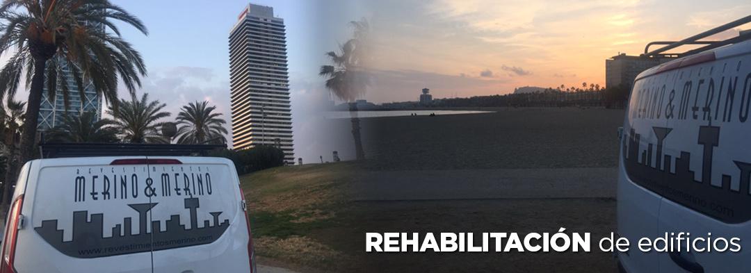 Rehabilitación de edificios el Prat