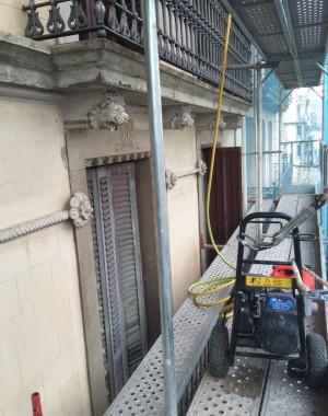 Obras restauración El Prat de Llobregat