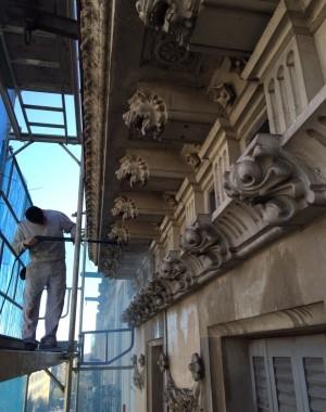 Obras restauración el Prat
