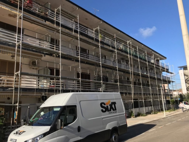 Rehabilitación de fachadas el Prat
